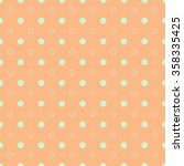 polka dot on colorful background | Shutterstock . vector #358335425