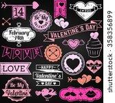 Chalkboard Valentine's Day...