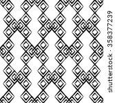 seamless geometric texture.... | Shutterstock .eps vector #358377239