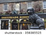 A Statue Of Greyfriars Bobby...
