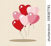 Valentine's Day Balloons Theme...