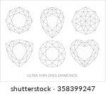 elegant ultra thin line... | Shutterstock .eps vector #358399247