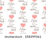 retro seamless pattern with... | Shutterstock .eps vector #358399361