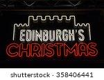 edinburgh  scotland   january... | Shutterstock . vector #358406441