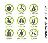 set of food labels   allergens  ...