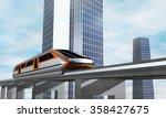 modern city transport. concept... | Shutterstock . vector #358427675