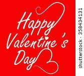 valentine day | Shutterstock .eps vector #358434131
