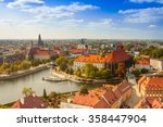 Old Town Cityscape Panorama ...