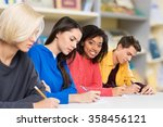 exam. | Shutterstock . vector #358456121