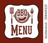 delicious barbecue design  | Shutterstock .eps vector #358469225