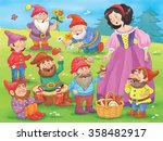 Snow White And Seven Dwarfs....