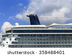 Cruise Ship Funnel.