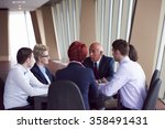startup business people group...   Shutterstock . vector #358491431