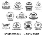 Bakery And Pastry Shop Emblems...