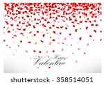 valentines day background.vector | Shutterstock .eps vector #358514051