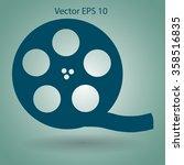 cinema retro design vector...   Shutterstock .eps vector #358516835