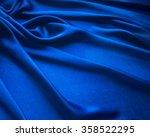 Blue Satin Cloth  Material