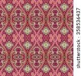 abstract oriental pattern | Shutterstock . vector #358536437
