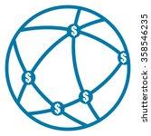 blue worldwide  business... | Shutterstock . vector #358546235