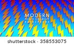 modern energetic lightning bolt ...