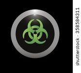 biohazard icon   Shutterstock .eps vector #358584311