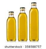 set of olive or sunflower oil...   Shutterstock . vector #358588757