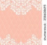 vector lace pattern in eastern... | Shutterstock .eps vector #358608695