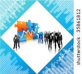 business concept   Shutterstock .eps vector #35861812
