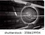 dark black color light abstract ...   Shutterstock .eps vector #358619954