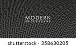 modern  sophisticated  black... | Shutterstock .eps vector #358630205
