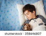 Six Years Old Child Sleeping I...