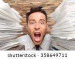 emotional stress. | Shutterstock . vector #358649711