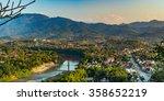 top view of luang prabang  laos | Shutterstock . vector #358652219