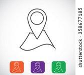 navigator guide icon   Shutterstock .eps vector #358677185