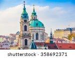 Church Of St. Nicholas At Prague