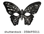 butterfly mask | Shutterstock . vector #358695011