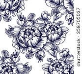 abstract elegance seamless...   Shutterstock .eps vector #358705037