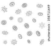 a mechanical vector background...   Shutterstock .eps vector #358711649