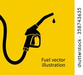 fuel pump icon. petrol station...
