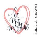 valentine  day and love... | Shutterstock .eps vector #358754981
