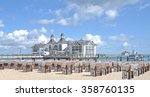 pier and beach of sellin on...