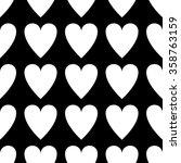 seamless pattern valentine's... | Shutterstock .eps vector #358763159