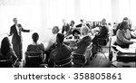 business people meeting... | Shutterstock . vector #358805861