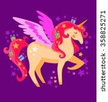 unicorn   Shutterstock .eps vector #358825271