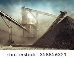 industrial background with... | Shutterstock . vector #358856321