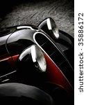 vintage car   Shutterstock . vector #35886172