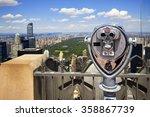 Zoom Binoculars On Rockefeller...