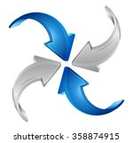 converge and contribute   ... | Shutterstock .eps vector #358874915