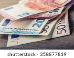 Several Hundred Euro Banknotes...
