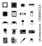 arduino chip electronics... | Shutterstock .eps vector #358885214